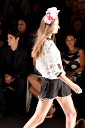Poppy Delevingne - Desigual Fashion Show - Mercedes-Benz Fashion Week Spring 2015
