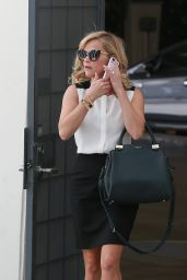 Reese Witherspoon Leaving Her Office in Beverly Hill on September 2014