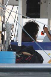 Rihanna Bikini Candids - on a Yacht in Barbados, Sept. 2014