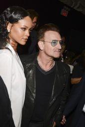 Rihanna - Edun Fashion Show in New York City – September 2014