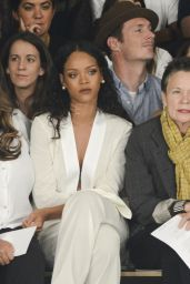 Rihanna - Edun Fashion Show in New York City – September 2014
