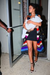 Rihanna - Leaving a Photoshoot in New York City - September 2014