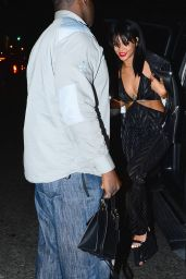 Rihanna Night Out Style - at Birthday Party in New York City - September 2014