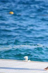Rihanna Vacationing in Saint Tropez - September 2014