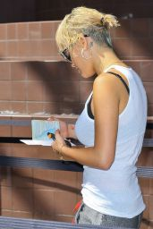 Rita Ora at LAX Airport - September 2014