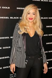 Rita Ora - Diesel Black Gold Spring 2015 Fashion Show in New York City
