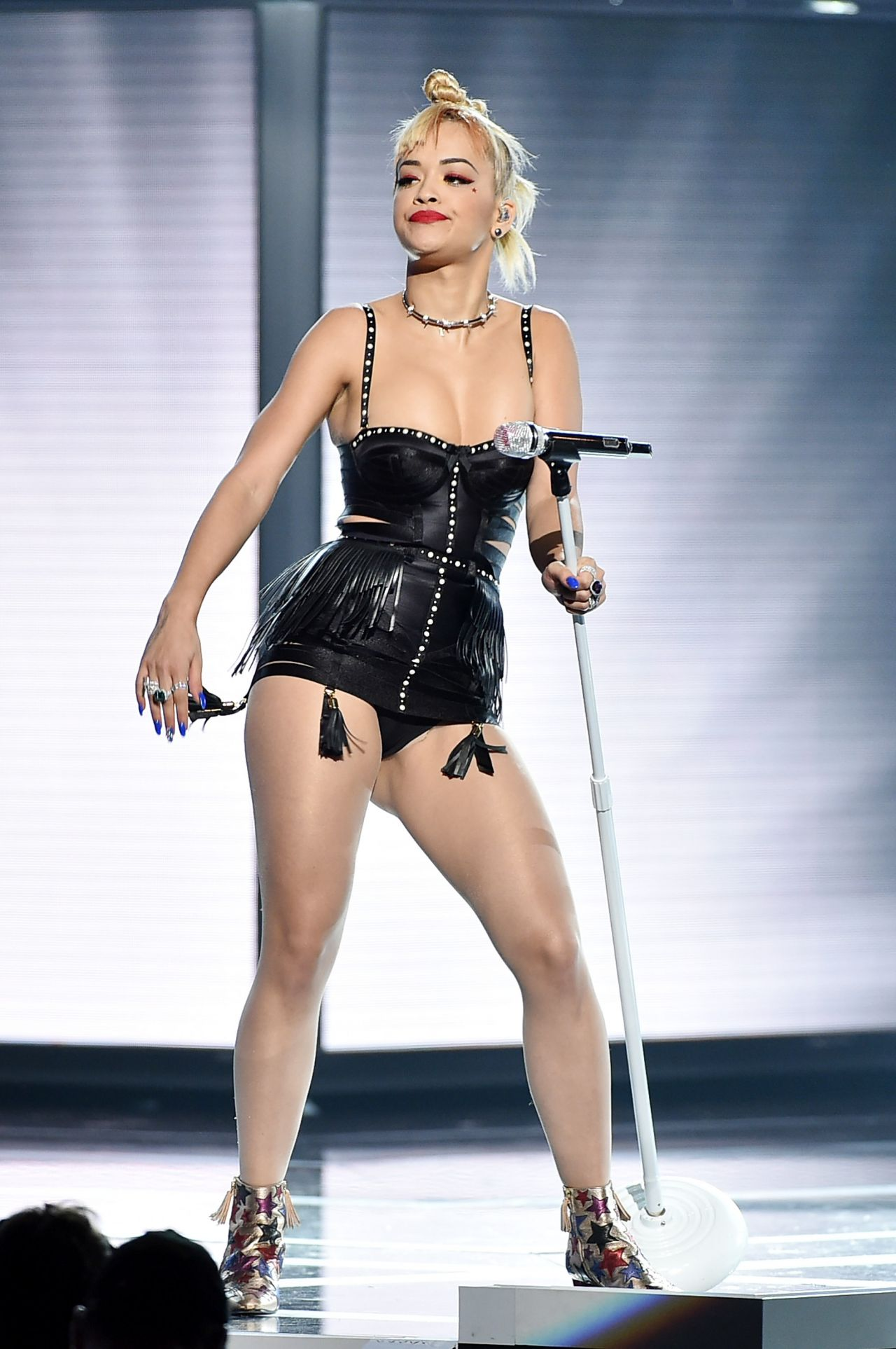 Rita Ora Performs At Fashion Rocks 2014
