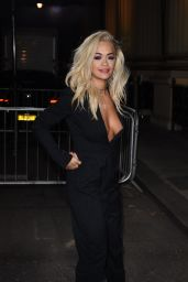 Rita Ora - Stella McCartney Green Carpet Collection in London - September 2014
