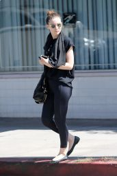 Rooney Mara in Tights - Out in Studio City, Sept. 2014