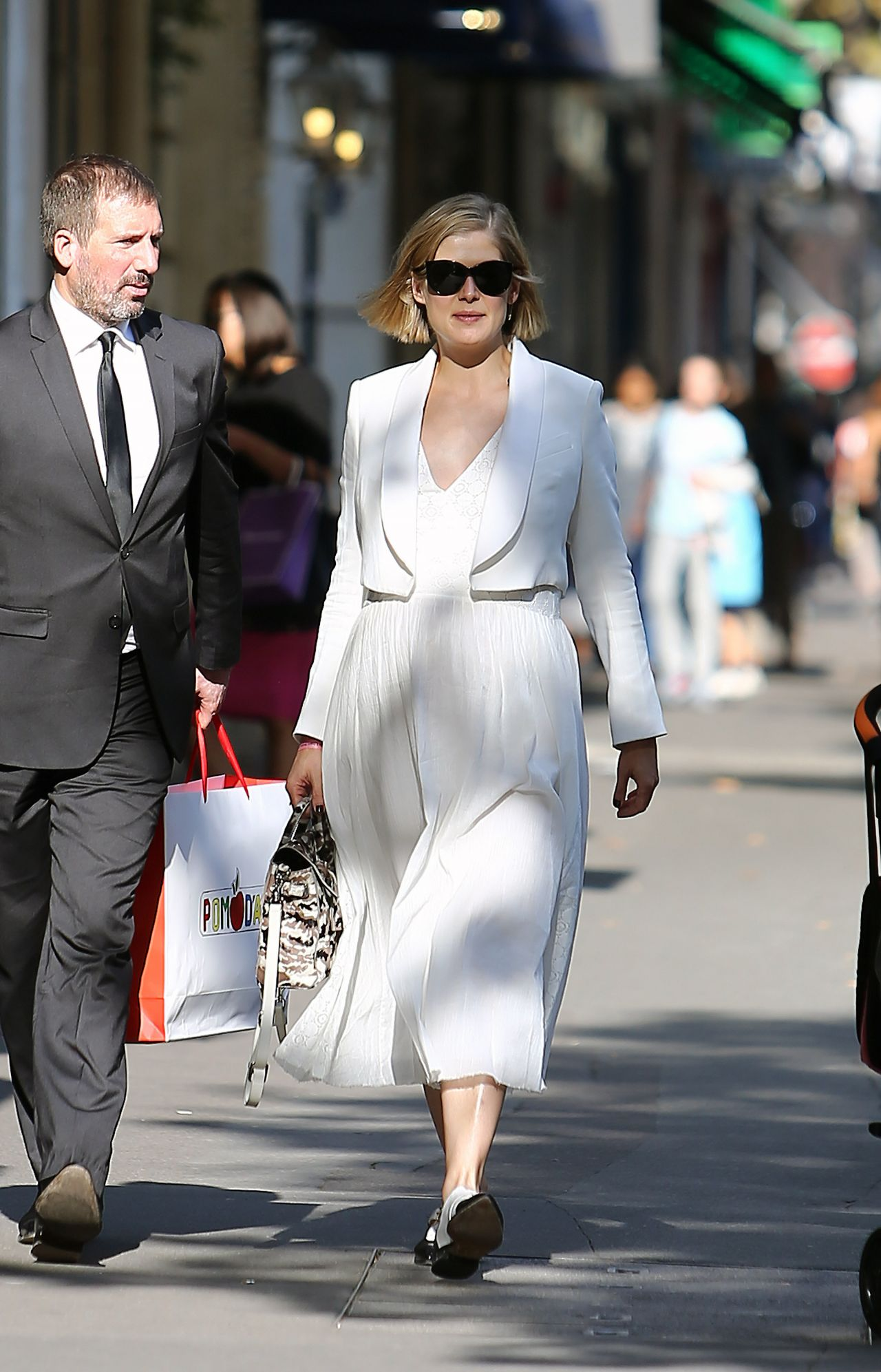 Rosamund Pike - Out Shopping in Paris, September 2014Rosamund Pike 2014