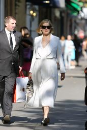 Rosamund Pike - Out Shopping in Paris, September 2014