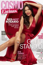 Rosario Dawson - Cosmopolitan Magazine for Latinas - October 2014