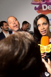 Rosario Dawson - Desigual Fashion Show – Mercedes-Benz Fashion Week Spring 2015