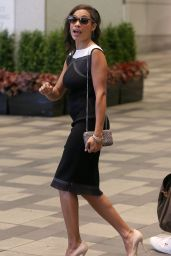 Rosario Dawson Style - Out in Toronto - September 2014