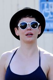Rose McGowan - Out in Los Angeles, September 2014