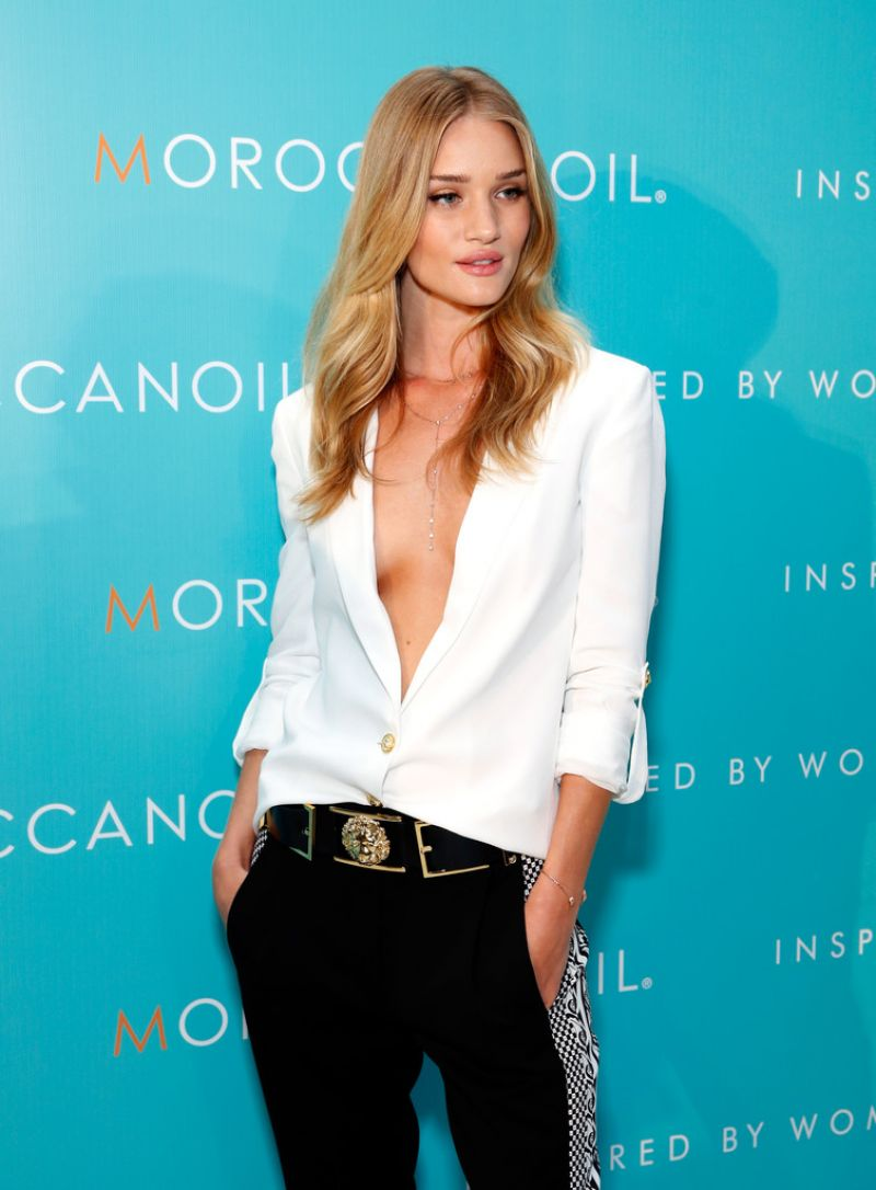 Rosie Huntington-Whiteley - Moroccanoil Inspired by Women Cmpaign Launch in New York City - Sept. 2014
