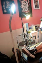 Rumer Willis - Benefit Cosmetics Kick-Off National Wing Women Weekend in Los Angeles, Sept. 2014