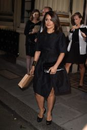 Salma Hayek – 2014 Stella McCartney Green Carpet Collection – London Fashion Week September 2014