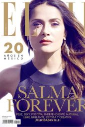 Salma Hayek - Elle Magazine (Mexico) September 2014 Issue