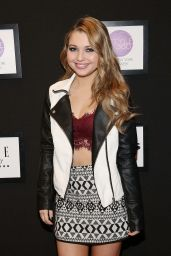 Sammi Hanratty Cute at OK! Fashion Week Event + Elle Runway Collection in New York City