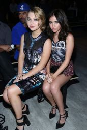Sammi Hanratty & Ryan Newman - Falguni and Shane Peacock Fashion Show in New York City