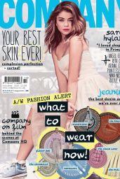 Sarah Hyland - Company Magazine (UK) - October 2014 Cover
