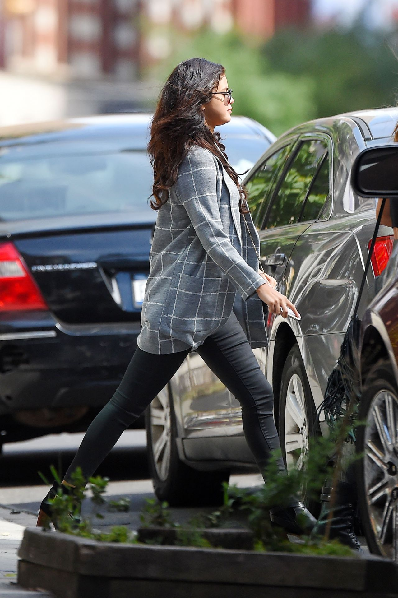 Selena Gomez Out in Soho in New York City - September 2014