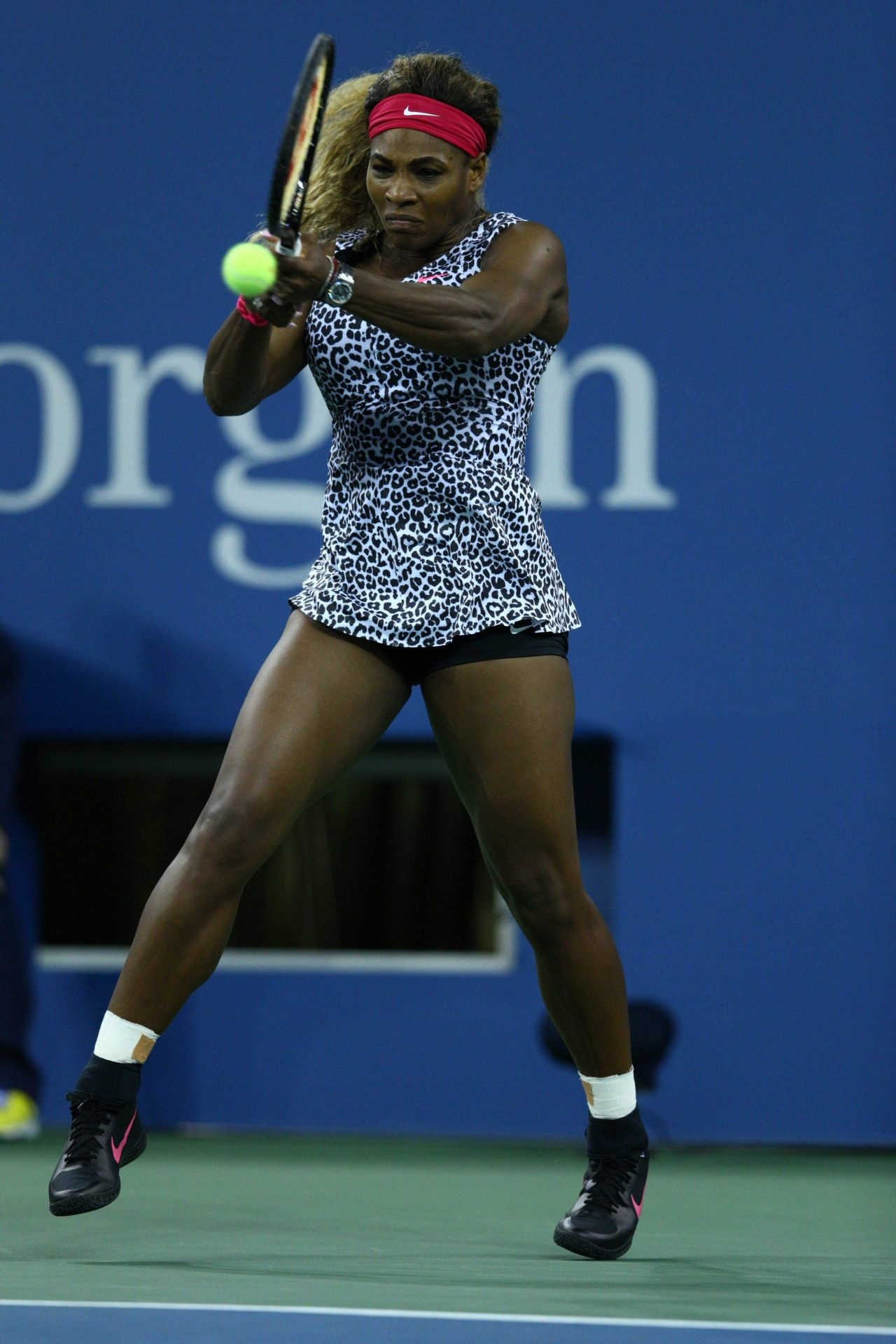 Serena Williams 2014 U S Open Tennis Tournament In New