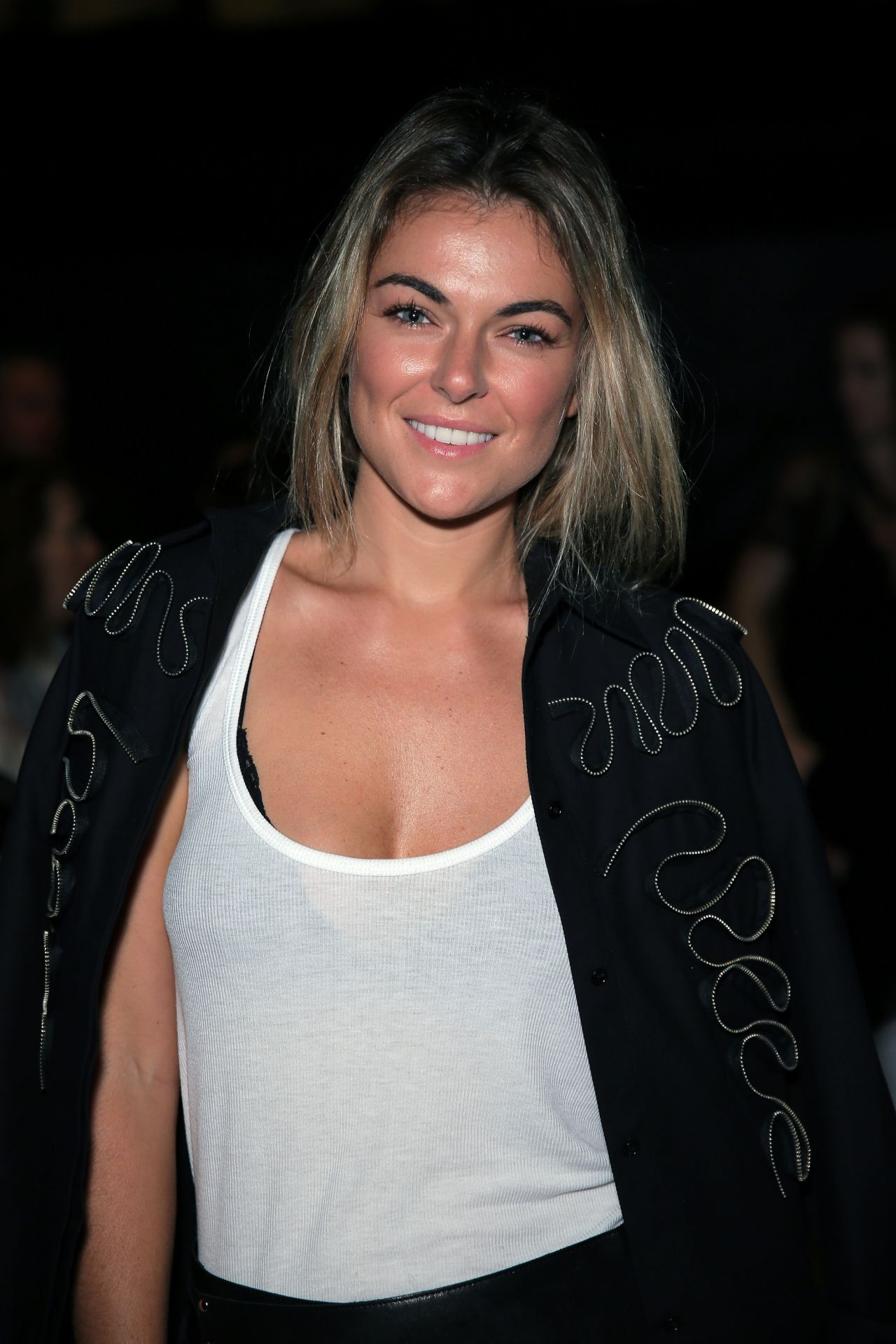 Serinda Swan - Francesca Liberatore Fashion Show in New York City - September 2014