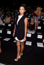 Shay Mitchell – BCBG Max Azria Fashion Show in New York City – September 2014