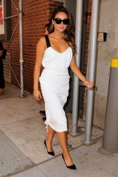 Shay Mitchell - Peter Som Fashion Show in New York City – September 2014