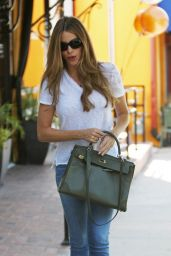 Sofia Vergara in Tight Jeans - Out in Los Angeles - September 2014
