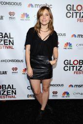 Sophia Bush - 2014 Global Citizen Festival VIP Lounge in New York City