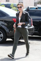 Sophia Bush - Going to a Hair Salon in Beverly Hills - September 2014