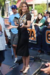 Sophia Bush on the Set of