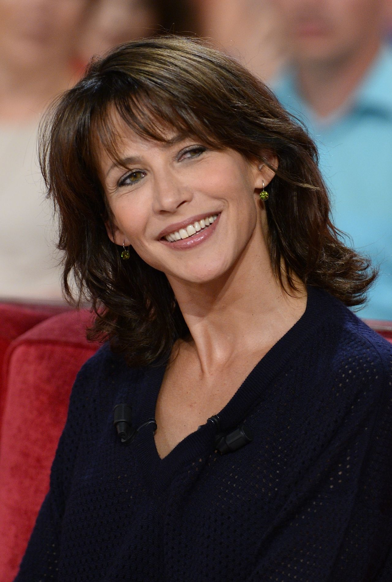 sophie marceau 39 vivement dimanche 39 french tv show in. Black Bedroom Furniture Sets. Home Design Ideas