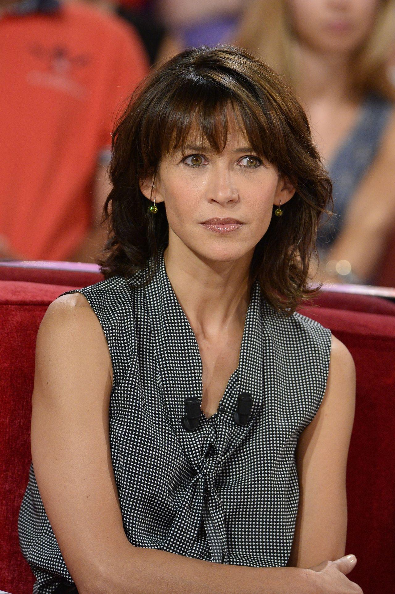 Sophie Marceau Vivement Dimanche French Tv Show In