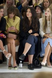 Sophie Turner and Hailee Steinfeld – Topshop Unique Show – London Fashion Week Spring/Summer 2015