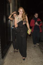 Sophie Turner Night Out Style - Leaving a Chanel Party in London - September 2014