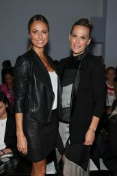 Stacy Keibler - Helmut Lang Fashion Show in New York City - September 2014
