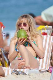 Suki Waterhouse Bikini Candids on the Beach in Rio de Janeiro - September 2014
