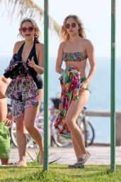 Suki Waterhouse Bikini Candids on the Beach in Rio de Janeiro - September 2014