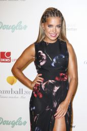 Sylvie Meis Hot in Dress at Dreamball Ritz-Carlton in Berlin - September 2014