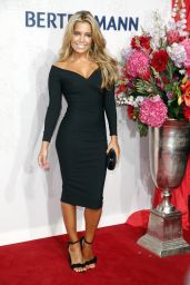 Sylvie Meis in Black Dress at Bertelmanns Party in Berlin - September 2014