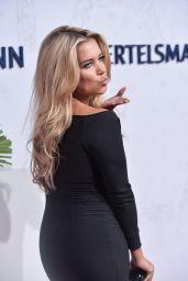 Sylvie Meis in Black Dress at Bertelmanns Party in Berlin - September 2014