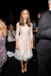Taissa Farmiga - Monique Lhuillier Fashion Show – Mercedes-Benz Fashion Week Spring 2015
