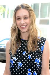 Taissa Farmiga - Thakoon Fashion Show in New York City - September 2014