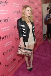Taylor Spreitler - Benefit Cosmetics Kick-Off National Wing Women Weekend in Los Angeles - Sept. 2014