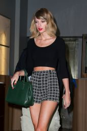 Taylor Swift Night Out Style - Out in NYC - September 2014