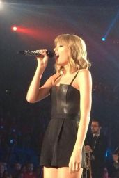 Taylor Swift Performs at Private concert at the Target Center Arena in Minneapolis - September 2014